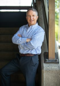 Curtis Bentley, owner of Health Directions Insurance in Fairfield, CT